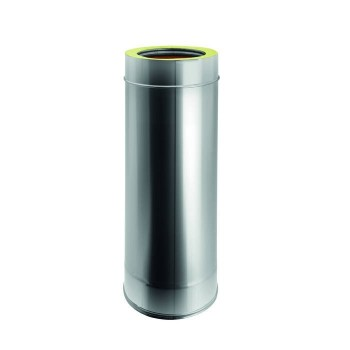 H. TOT.1000 mm flue pipe...