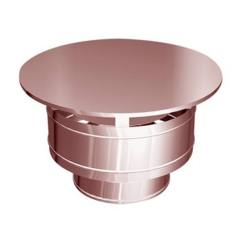 Hat weatherproof copper flues
