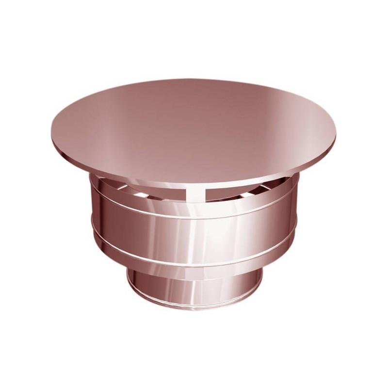 Sombrero tubos de cobre resistentes a la intemperie