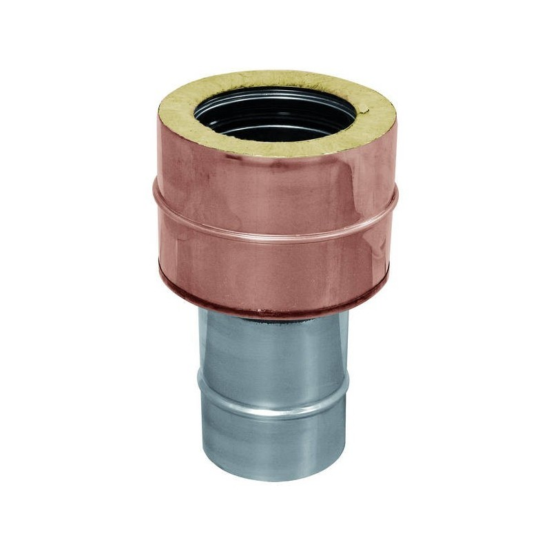 Dobles tubos de cobre conjunta / mono