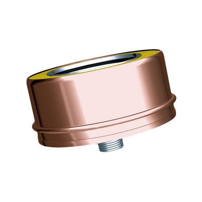 Proof cap condensation copper drain