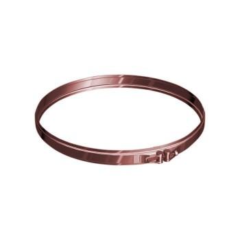 Collier de sécurité conduits de cheminée cuivre