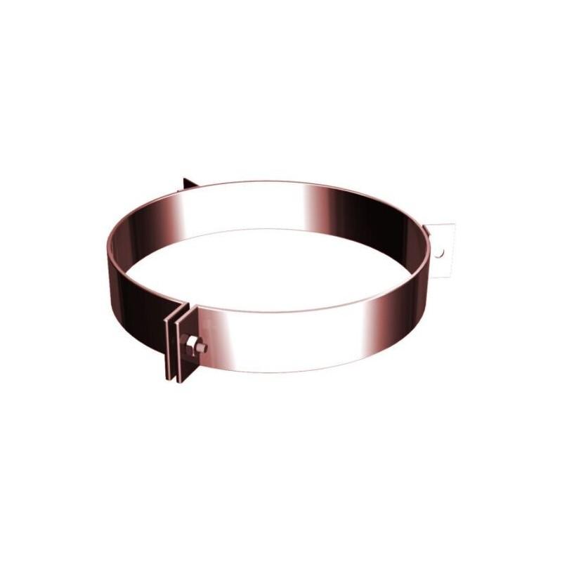 Ofenrohrschelle für Seilaufhängung Kupfer