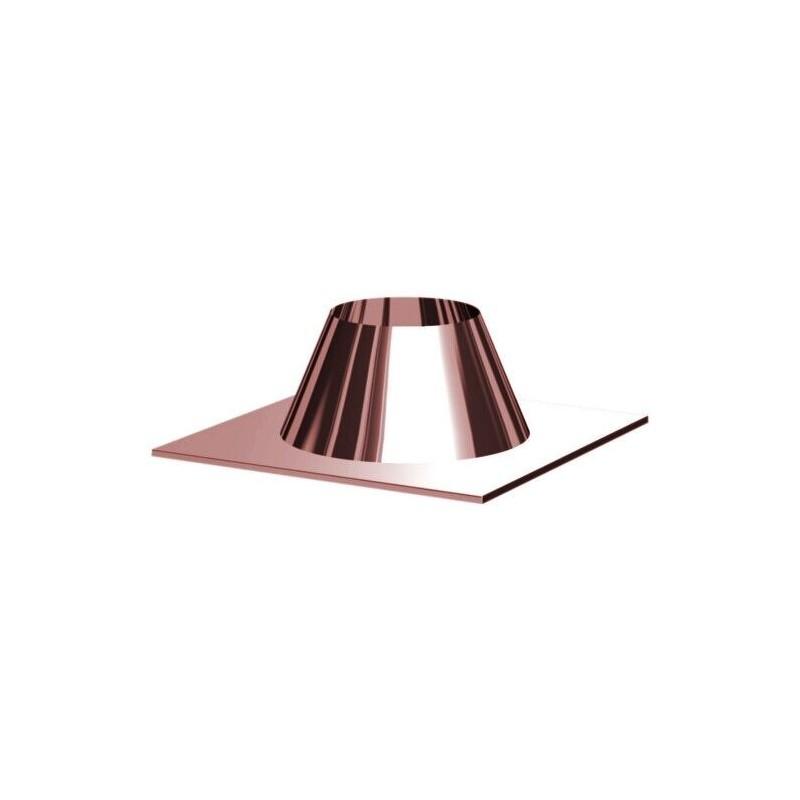 Meteorización barras de tira plan de chimenea de cobre