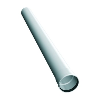 Flue pipe plastic element 1000 mm