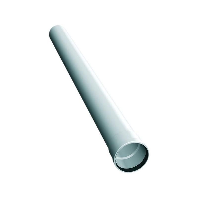 Conducto de humo elemento 250 mm plástico