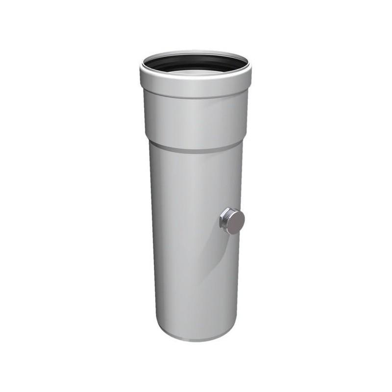 Raccord les gaz d'analyse conduit de cheminée plastique