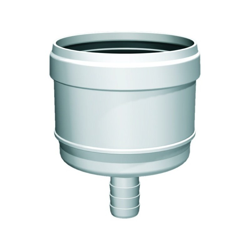 87° flue pipe plastic tee joint male