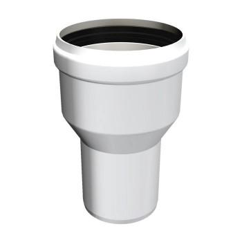Flue pipe plastic increase Female - Male