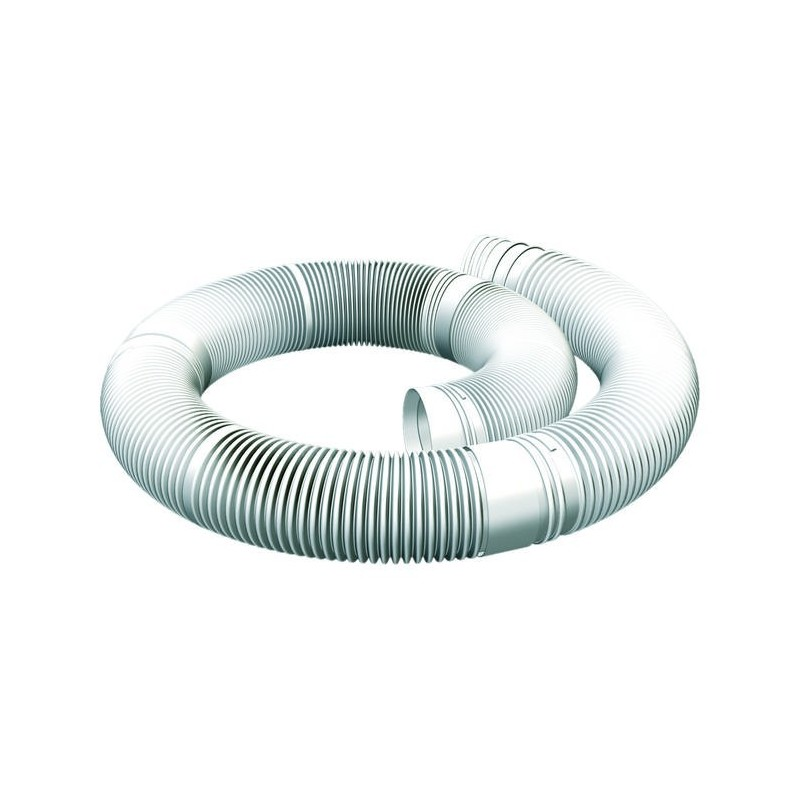 Elemento de flexión conducto de humo plástico