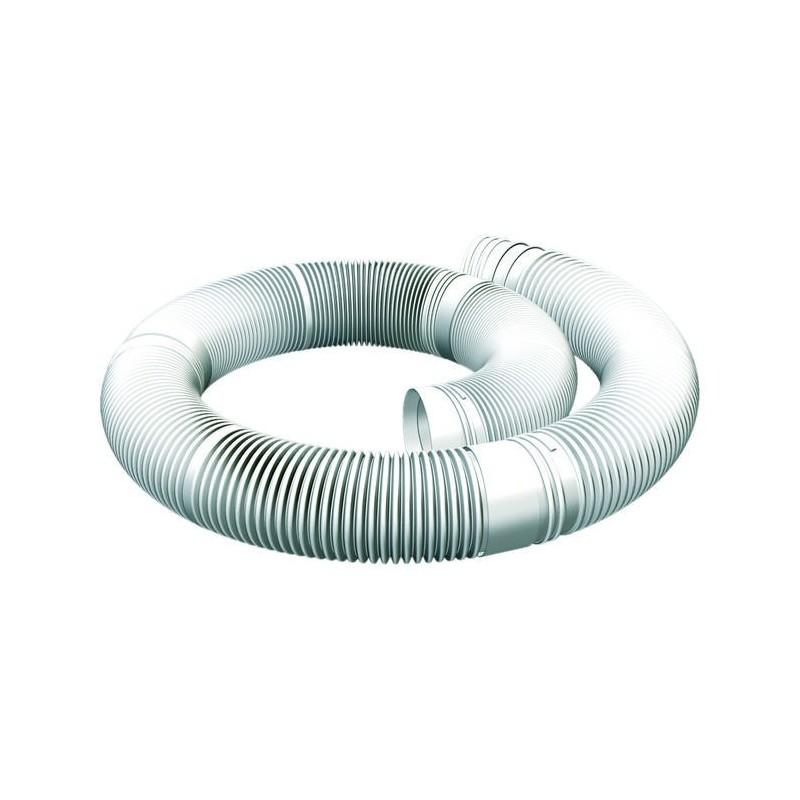 Elemento flessibile per canna fumaria in plastica