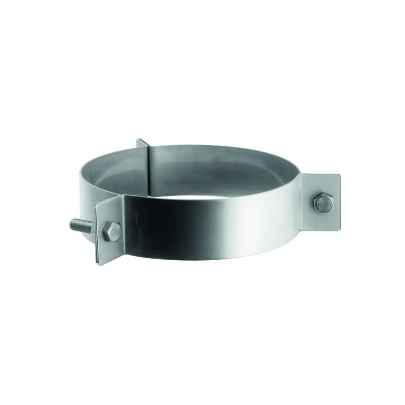 Flue pipe guy wire bracket