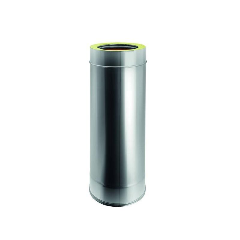 Flue pipe element H. TOT. 500 mm