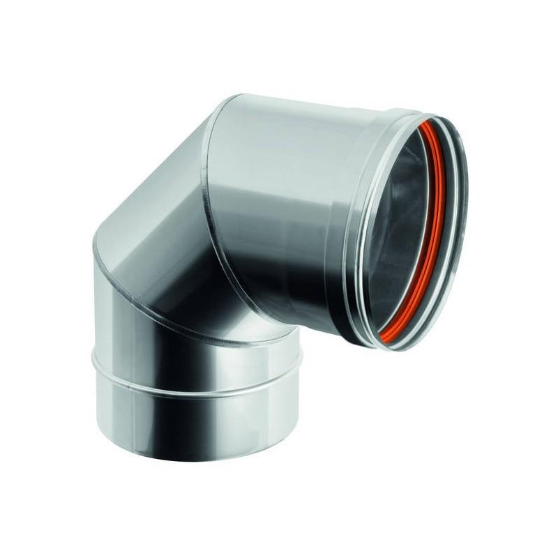90° flue pipe bend