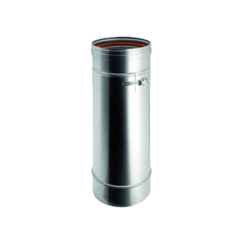 Elemento variabile per canna fumaria monoparete inox