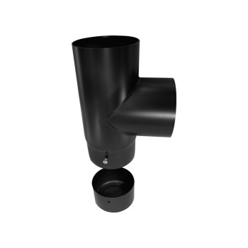 90° flue pipe tee joint...