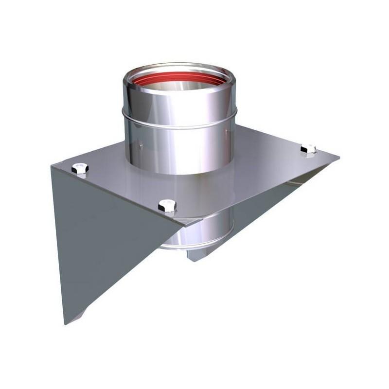Plaque support intermédiaire conduits de cheminée inoxydable Aria