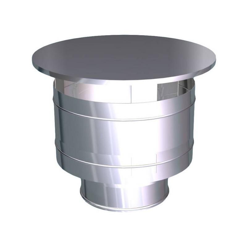 Hat weatherproof steel flues