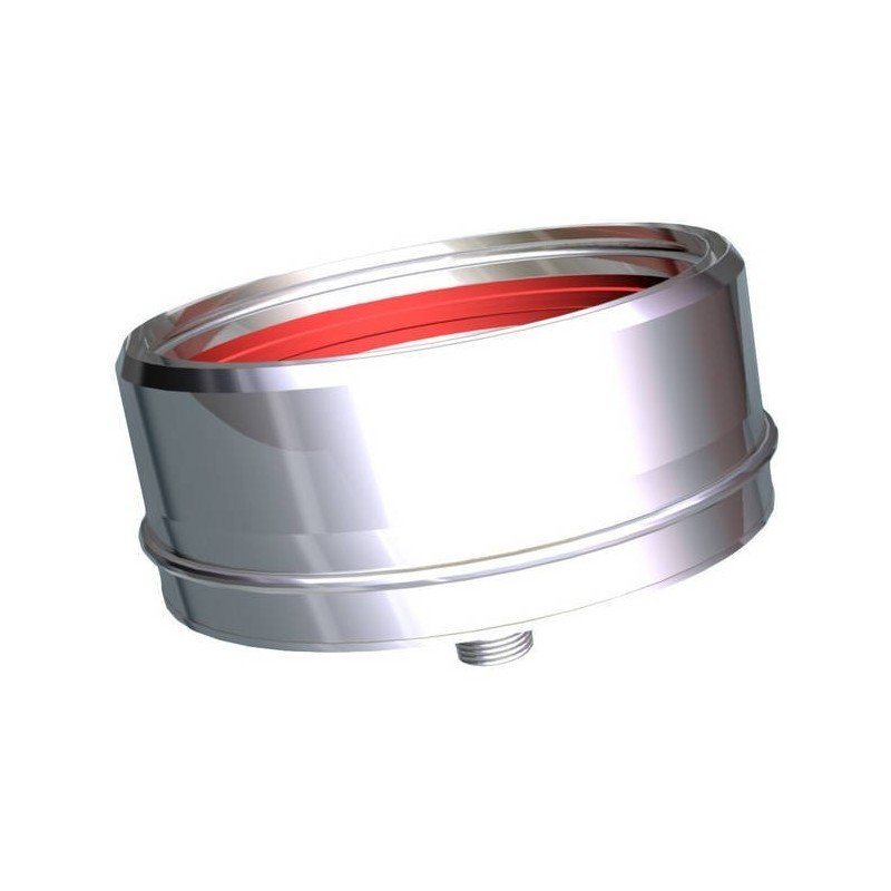 Sealing plug with condensate drain Stainless