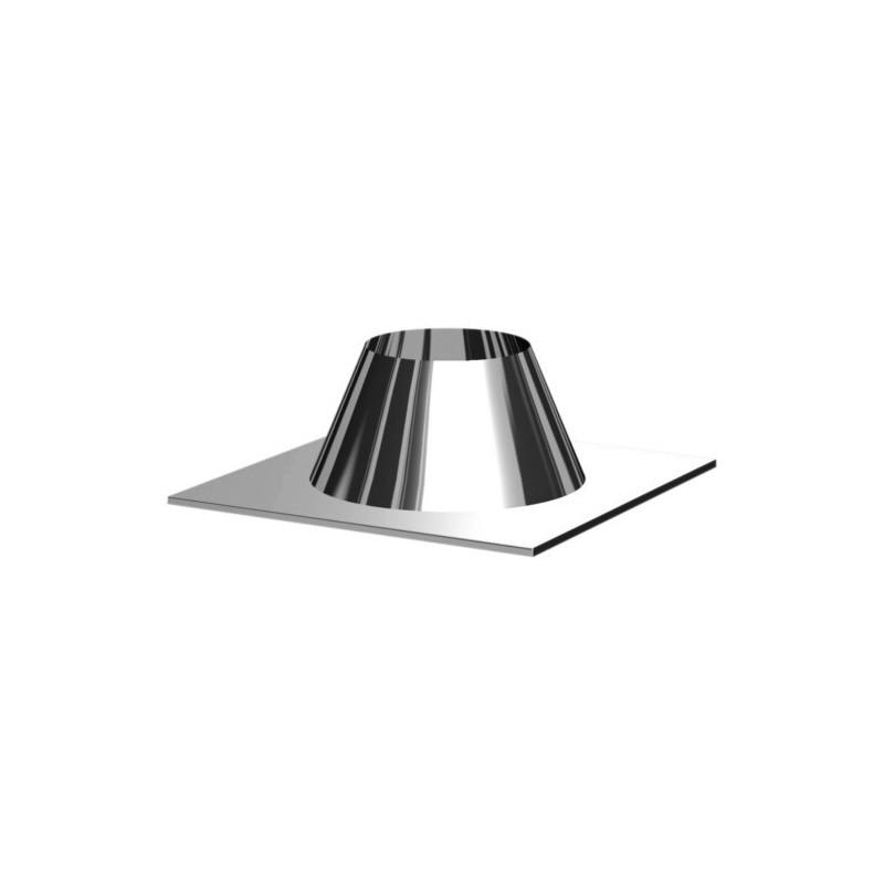 Collier de fixation conduits de cheminée inoxydable