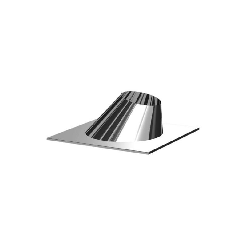 Collier de fixation pour tirants conduits de cheminée inoxydable