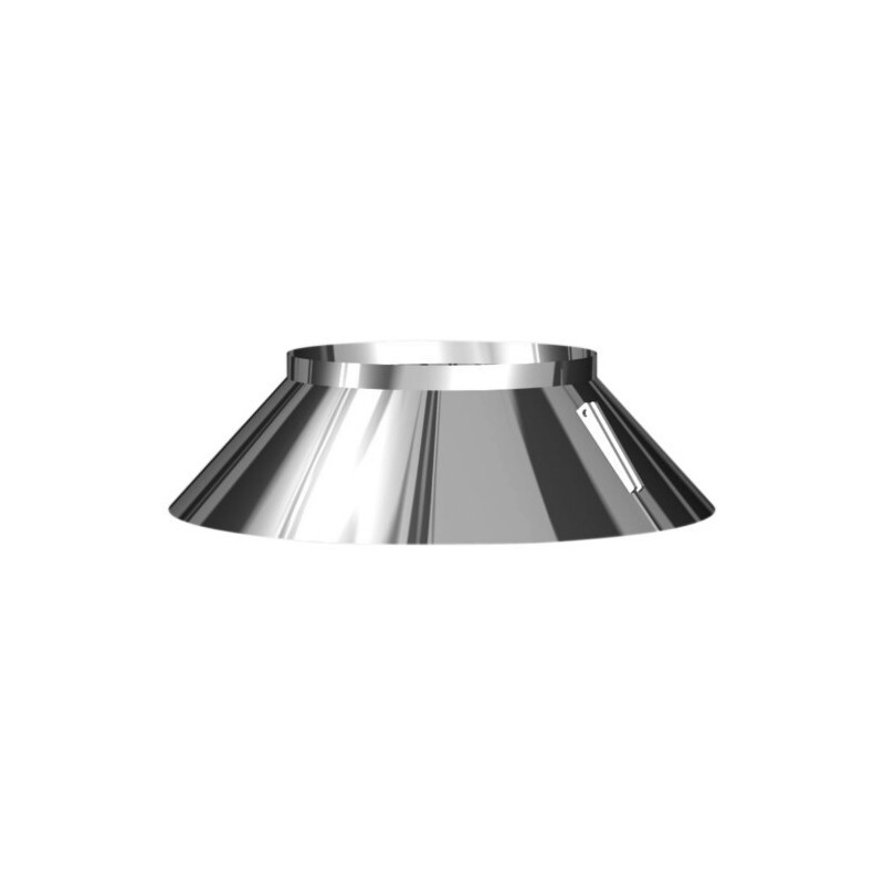 Weatherproof flue pipe band stainless Aria