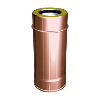Conducto de humos elemento 1000mm pipe cobre