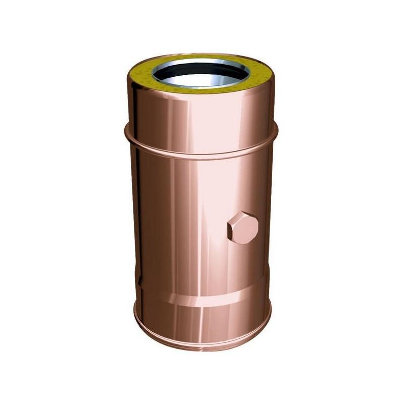 Elemento de extracción de humos conductos de humos cobre