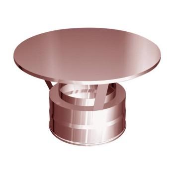 Le plan de la cheminée de cuivre Hat