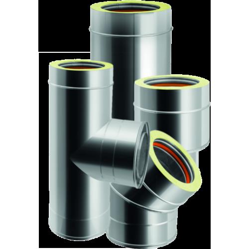 Conduits de cheminée double paroi en acier inoxydable - QBasic