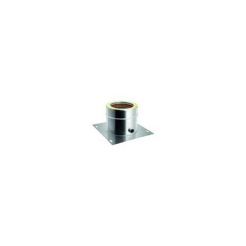 Mensole-scarico per canne fumarie doppia parete inox - QBasic