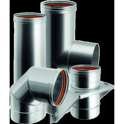 Conduits de cheminée mono paroi en acier inoxydable – Qbasic