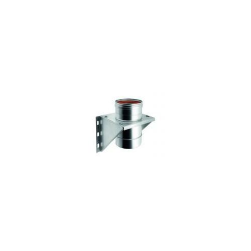 Ménsulas de evacuación para conductos de humos monopared de acero inox - QBasic