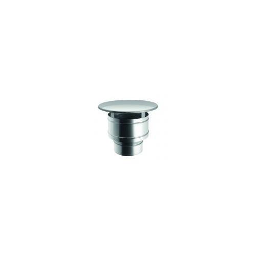 Chapeaux mouble paroi en acier inoxydable pour conduits de cheminée – Qbasic