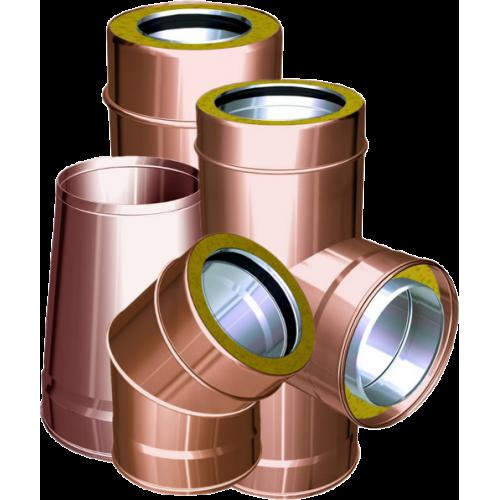 Conduits de cheminée double paroi cuivre - QBasic