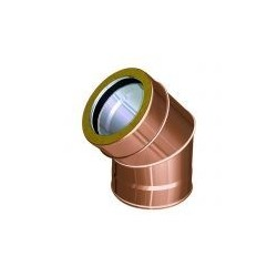 Bends for flue pipes copper