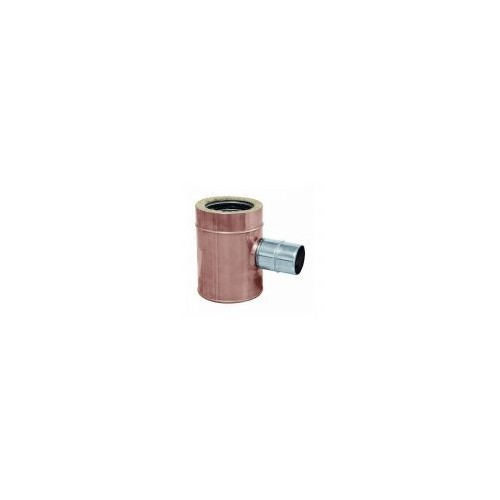 Twin wall copper joints flue pipes - QBasic