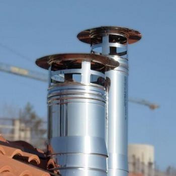 Conduit de cheminée pour la chadière à gaz à prix de fabrique | QBasic système de fumée