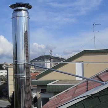 Accessoires pour les conduits de cheminée : colliers de sécurités QBasic