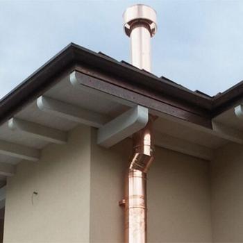 Coudes pour les conduits de cheminée double paroi en acier inoxydable | QBasic