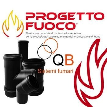 Per Progetto Fuoco 2018 Vendita a Prezzi di fabbrica Canne Fumarie per stufe a Legna