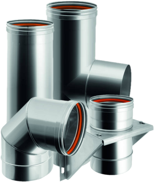 SINGLE-WALL STAINLESS STEEL FUMES